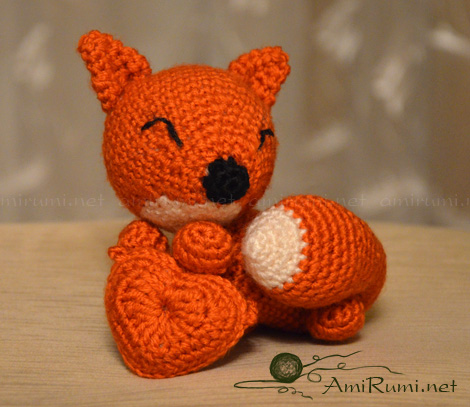Fox with Heart